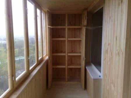 Фото шкаф на балкон своими руками